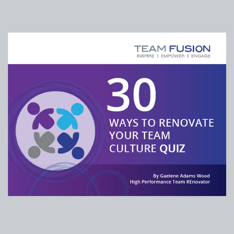 30 Ways to Renovate Your Team